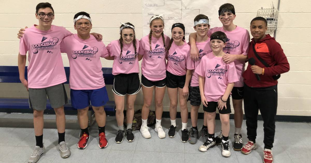 St. Mary's students duck and dodge for a good cause