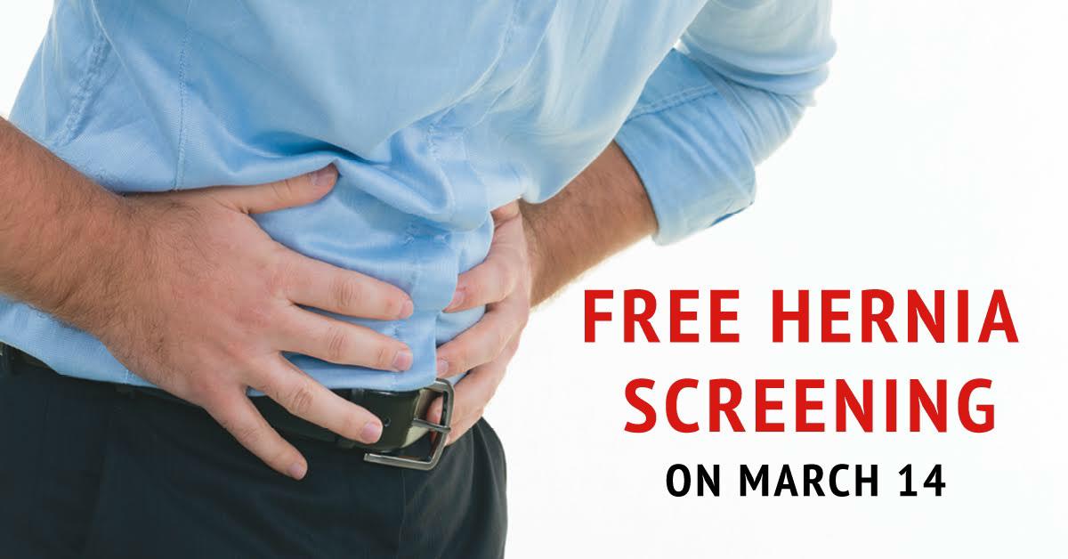 La Porte Physician Network providing free hernia education and screening in Michigan City