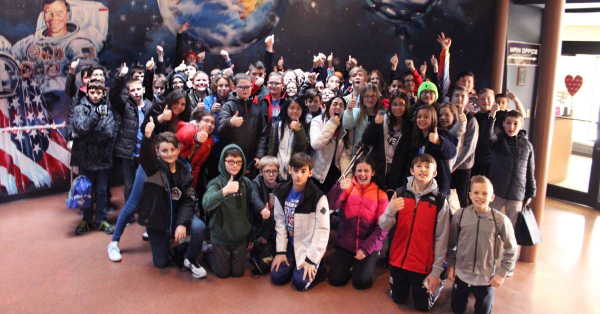 Students in Space