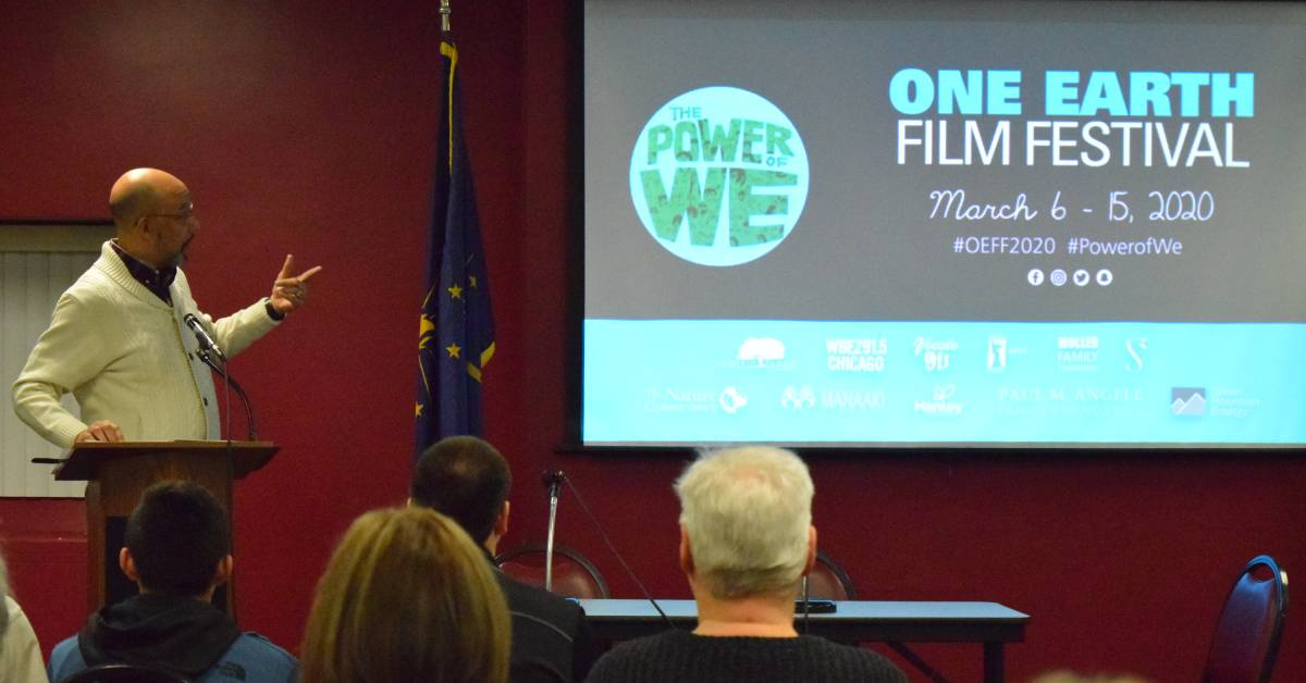 Calumet College of St. Joseph opens up the conversation about sustainability with the One Earth Film Festival