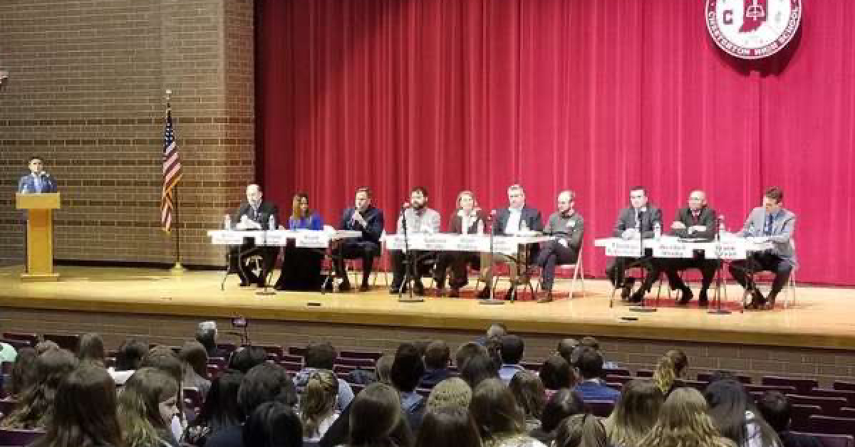 #1StudentNWI: Chesterton High School readies for elections, stays strong during pandemic