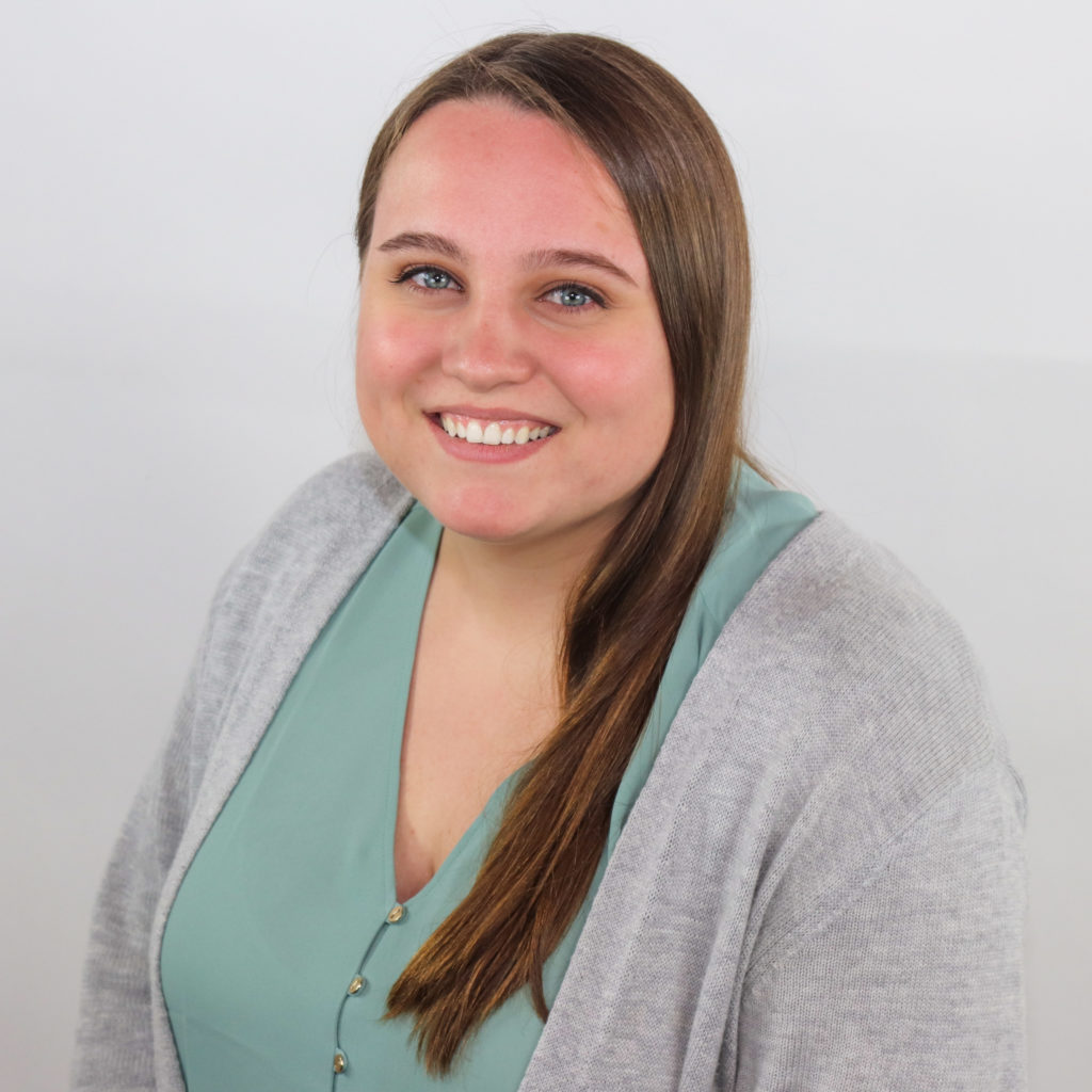 Head shot of Kelsea Costello, publishing and social media editor for GreatNews.Life