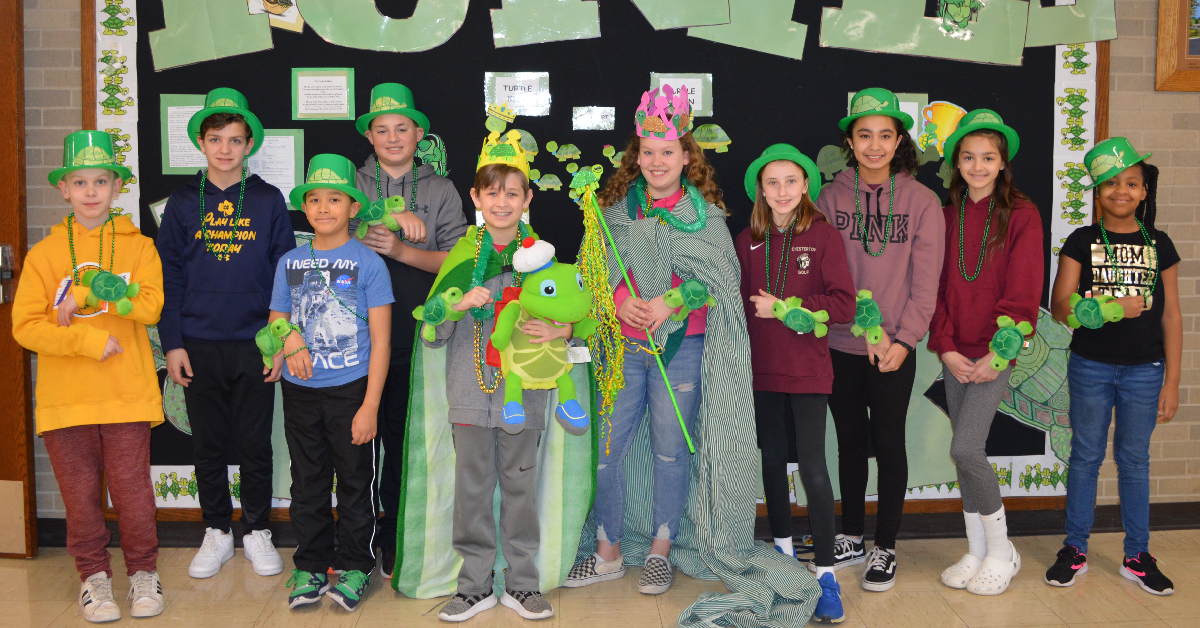 Liberty Intermediate School celebrates Turtle Olympics