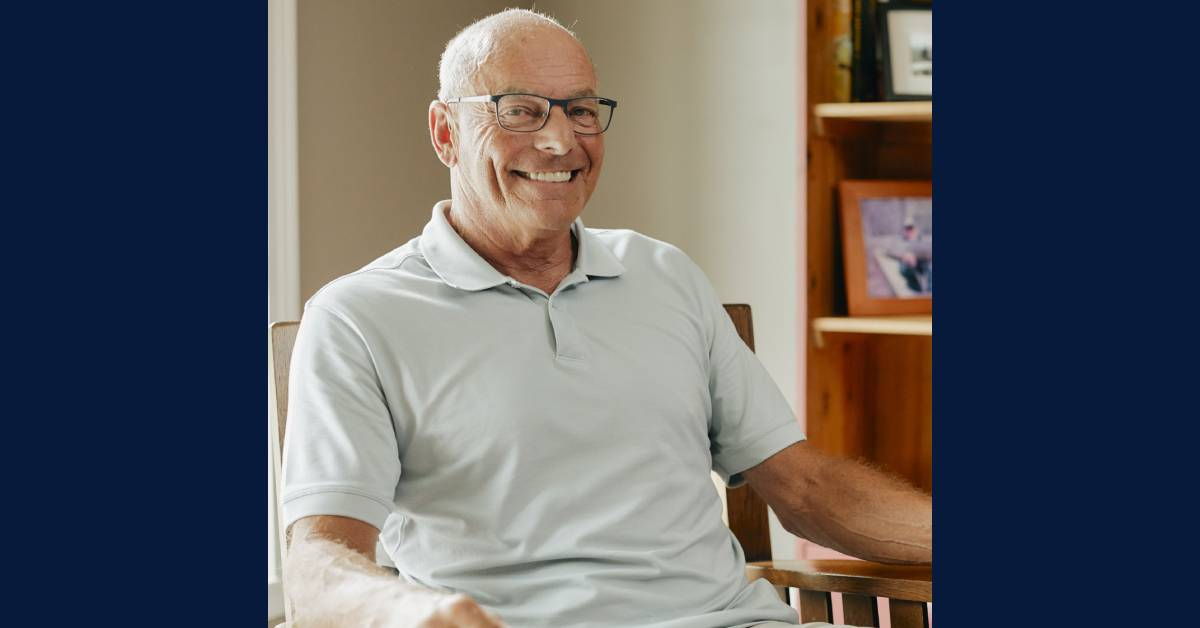 Renew Active Helps Keep a Retired Grandfather Moving
