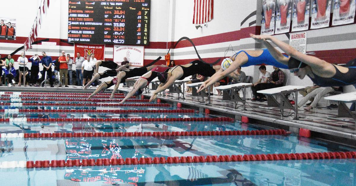 2019-2020 Swimming DAC All Conference Team Results
