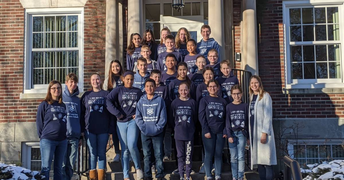 St. Mary's School – St. Mary's Science Olympiad Team Qualifies for State Competition