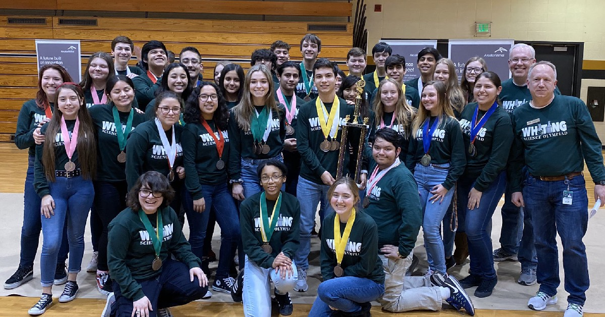 #1StudentNWI: Whiting High School celebrates Senior Night, turnabout dance, and upcoming travel to the Science Olympiad State Competition
