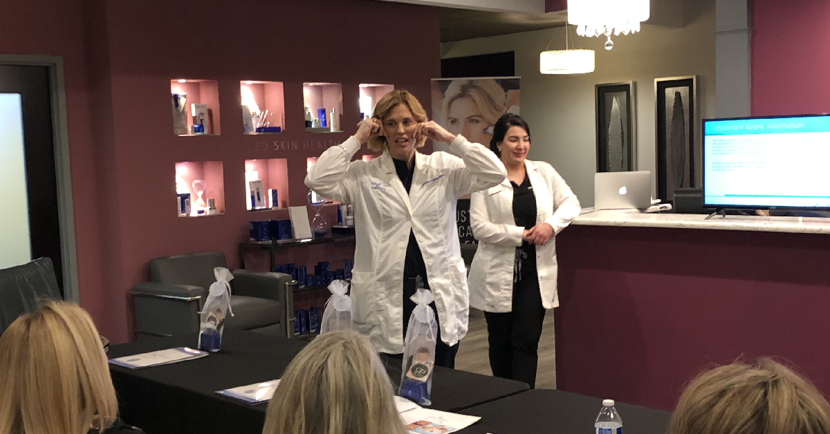 Vein & Laser Institute professionals connect with community at Silhouette InstaLift™ seminar