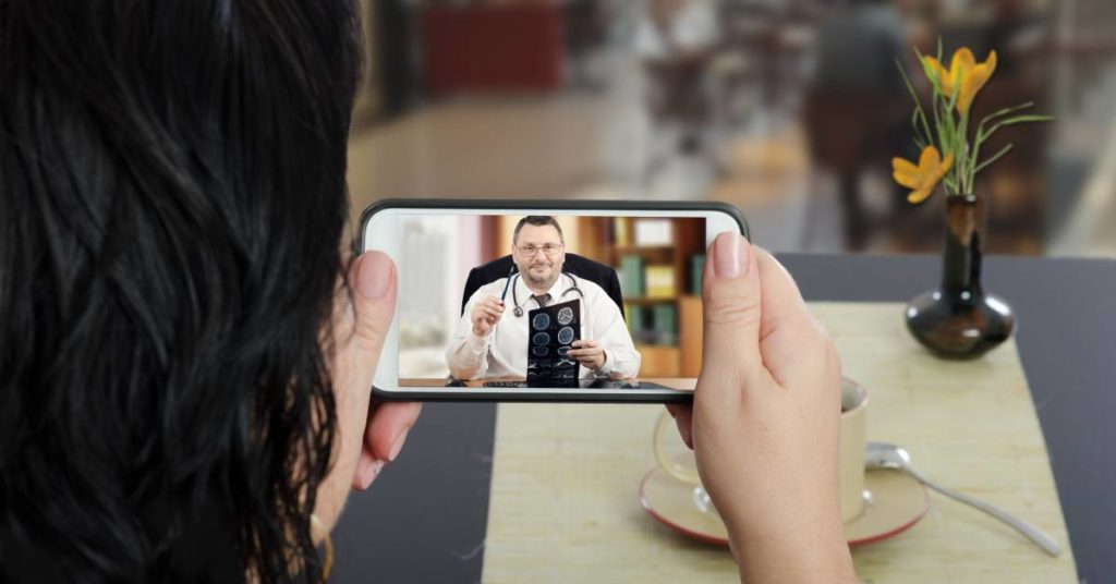 Virtual health visit telehealth