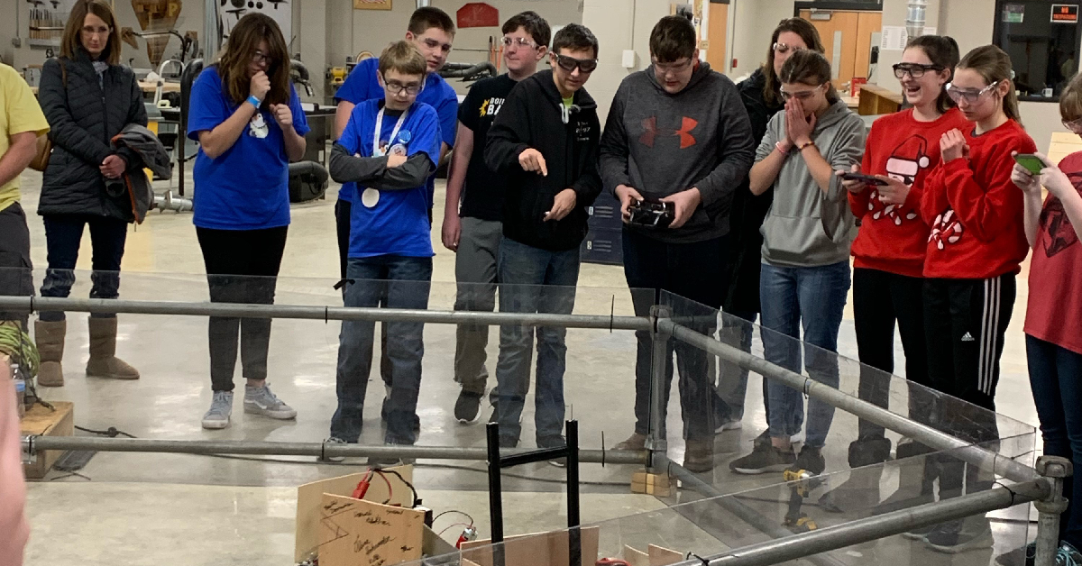La Porte County Schools hold 2nd annual Week of Code
