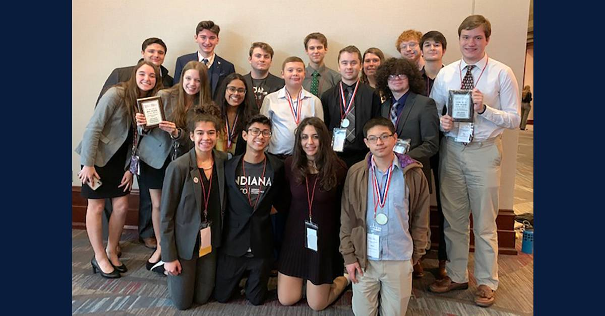CHS Business Professionals of America (BPA) students compete at State competition; four qualify for Nationals