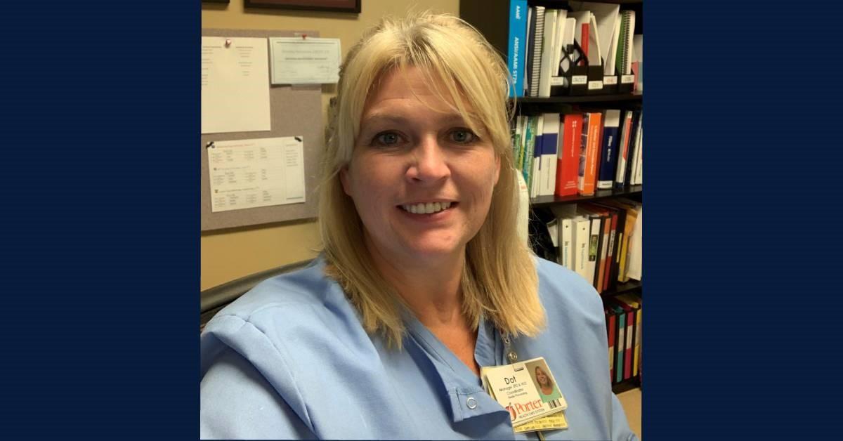 A Porter Regional Hospital Employee Spotlight: Dot Nicholson