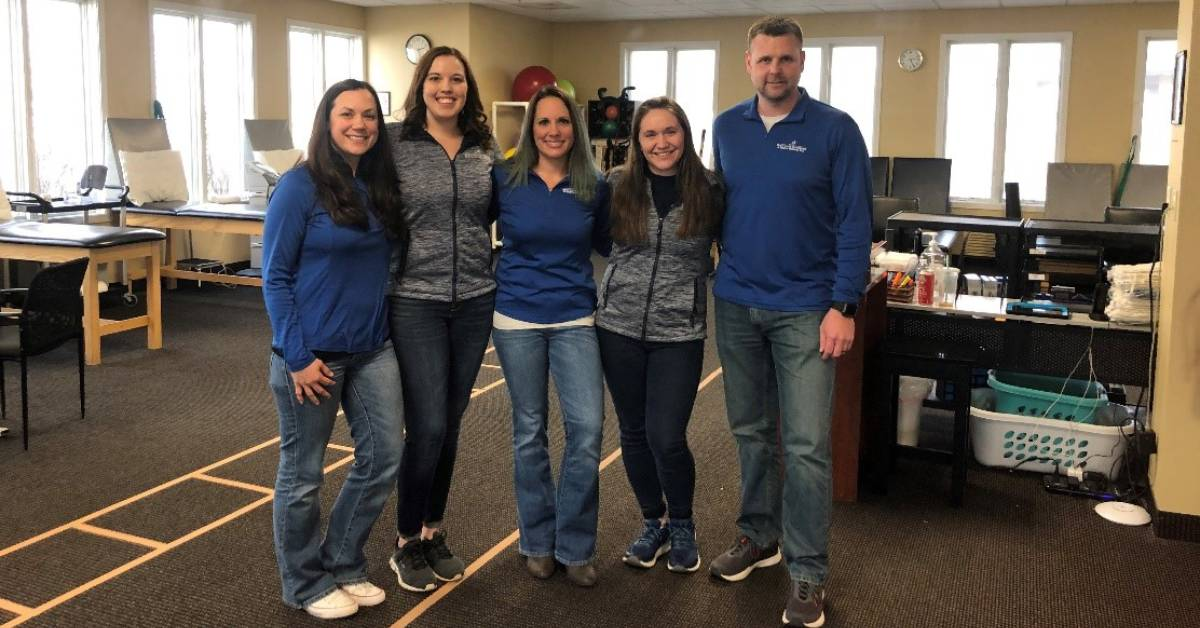 Great Lakes Orthopedics & Sports Medicine Physical Therapy Team love coming to work for one reason: their patients