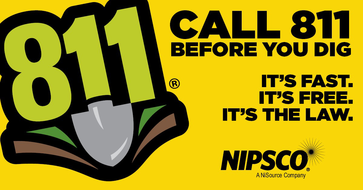 NIPSCO recognizes safe digging month and stresses importance of calling 811