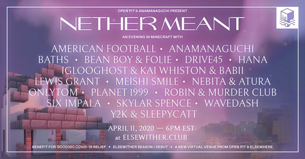 Nether Meant online music festival
