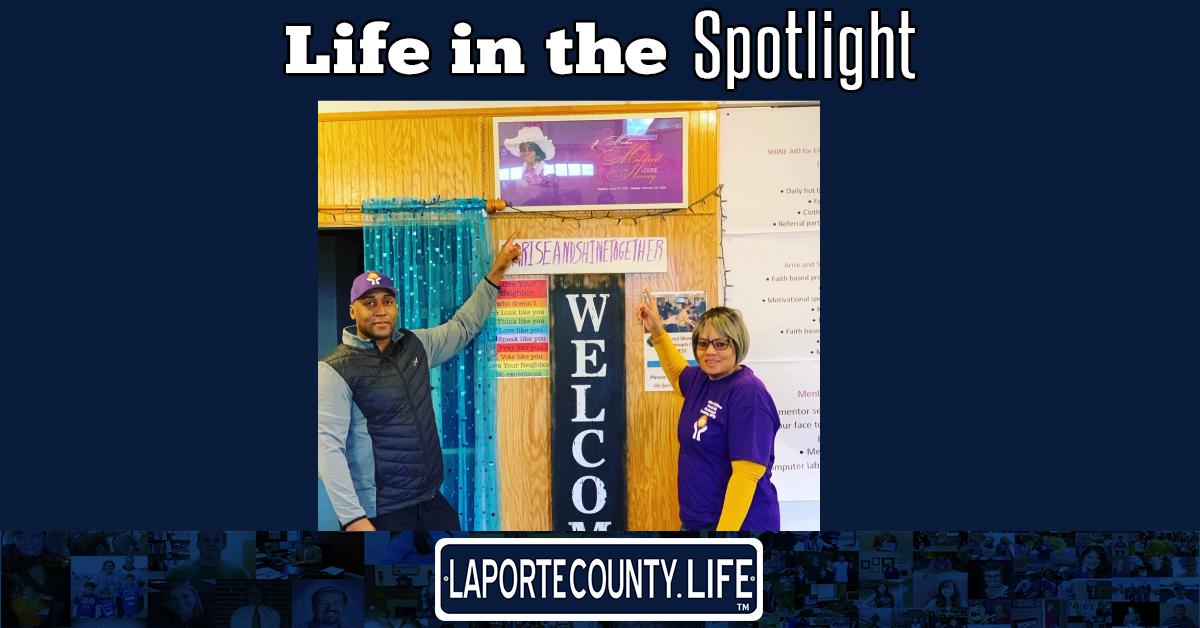 A La Porte County Life in the Spotlight: Alisa Burks Simmons and Antwan Burks