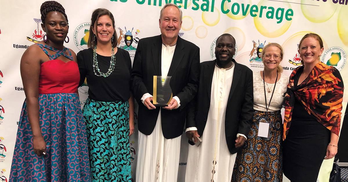 Center for Hospice Care celebrates ten years of partnership and palliative care progress in Uganda