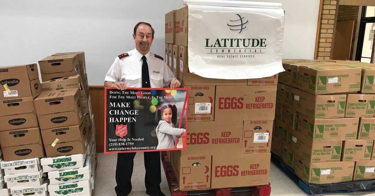 Sysco and Latitude Commercial partner to provide almost 4.5 tons of food to The Salvation Army