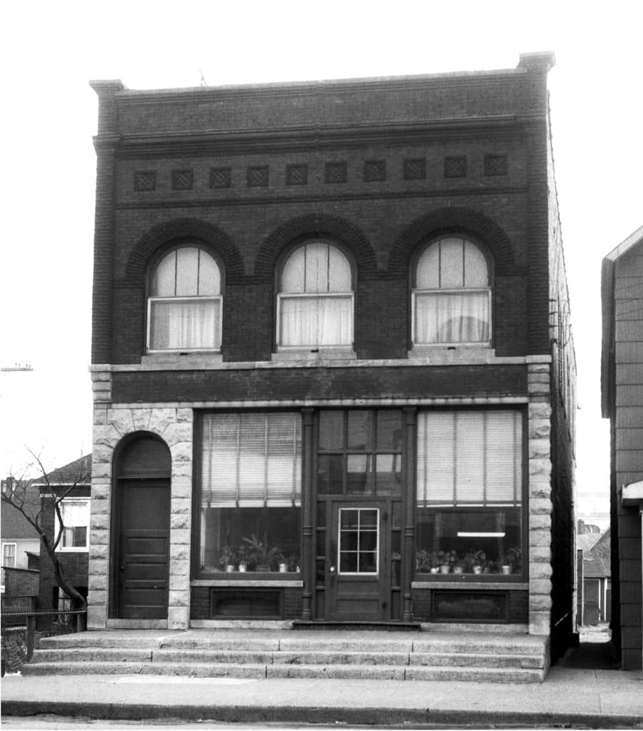 Bank of Whiting historial photo Indiana