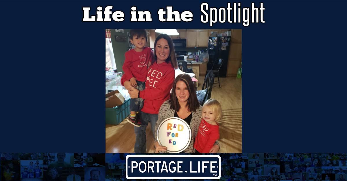A Portage Life in the Spotlight: Janice Flatz