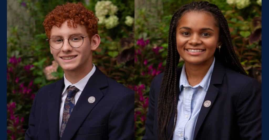 Two La Lumiere Seniors Awarded Evans Scholarships