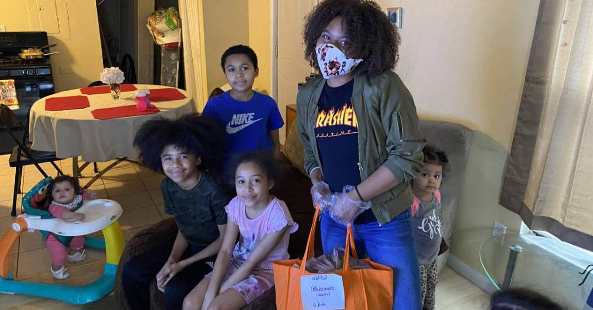 City Life Center distributes care packages to families in need during epidemic