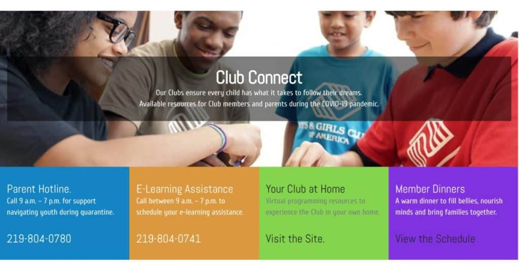 Boys & Girls Clubs of Greater Northwest Indiana launches virtual resources