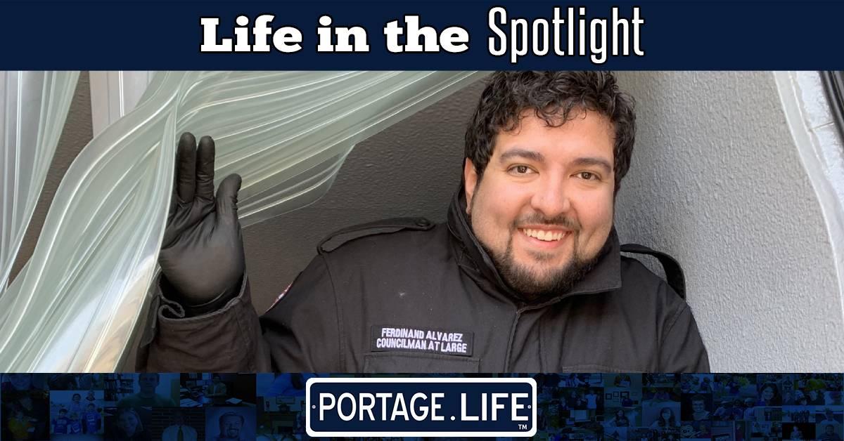 A Portage Life in the Spotlight: Ferdinand Alvarez