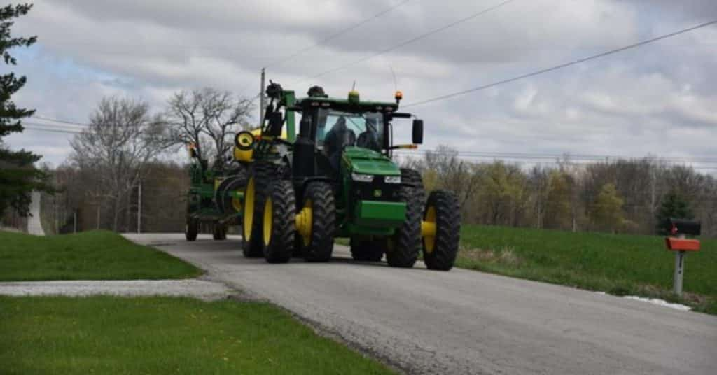Planting season begins across Indiana: be alert, slow down, share the road