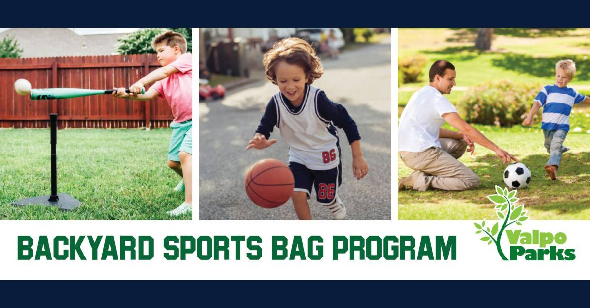 Valpo Parks offers sports equipment rentals to keep kids active at home