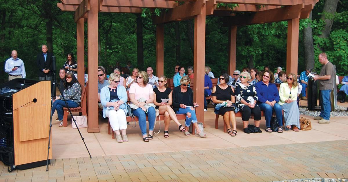 Gardens of Remembrance and Renewal Memorial Dedication