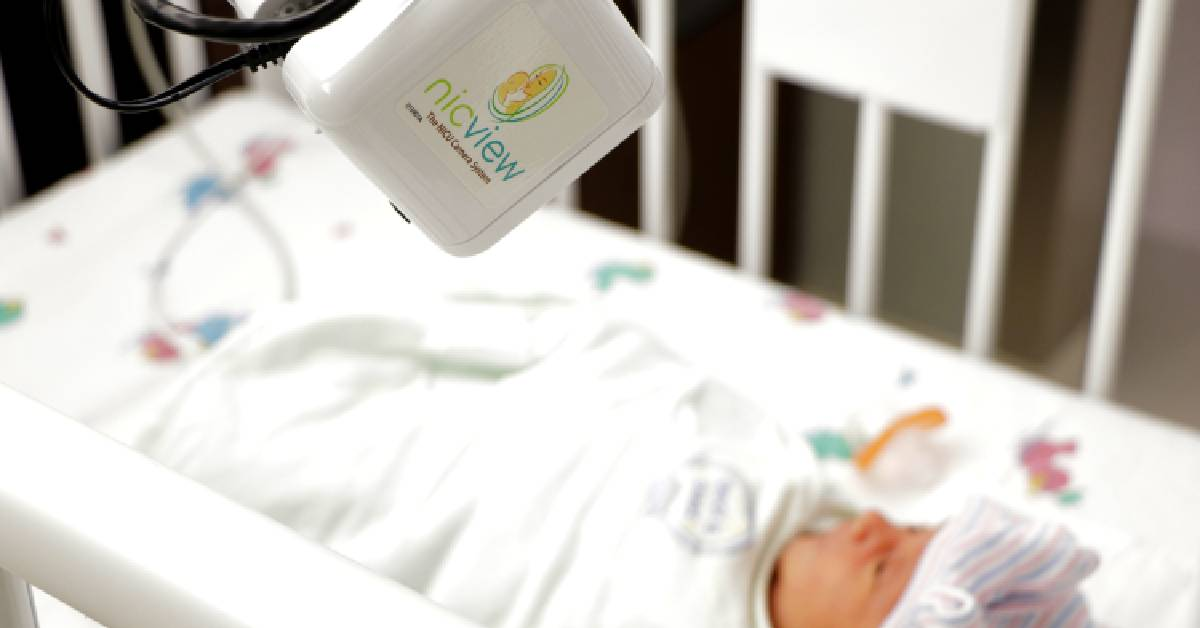 Video streaming system brings comfort to parents of newborns in the NICU