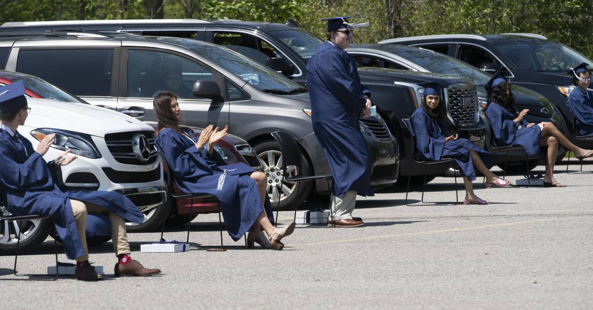 La Lumiere Hosts Drive-in Graduation