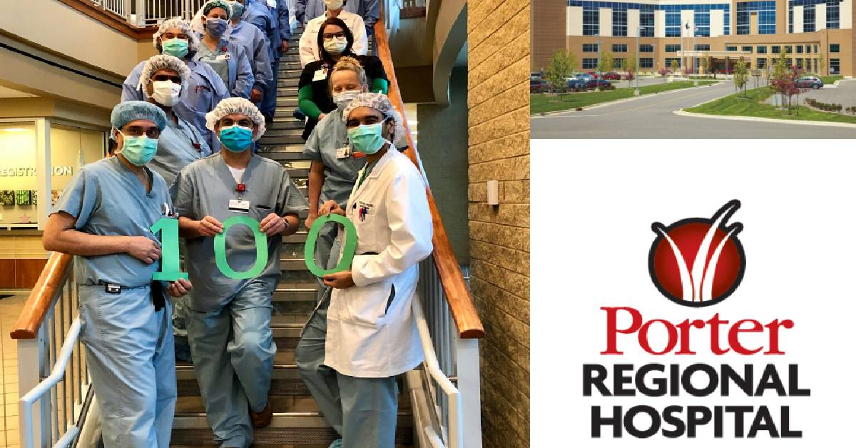 Porter Regional Hospital Performs 100th TAVR procedure
