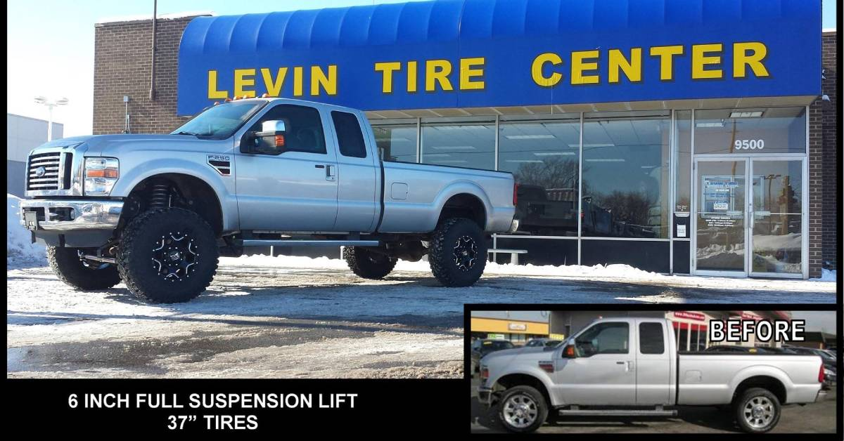 5 FAQs about lift kits answered by Levin Tire & Service Center technicians