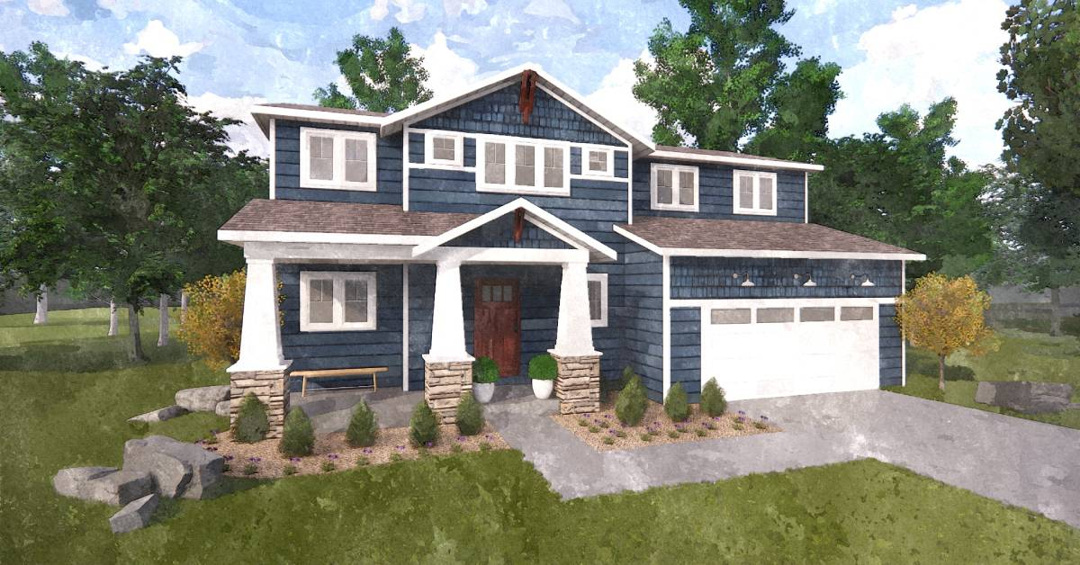 Steiner Homes Ltd. offers new Vesper floor plan