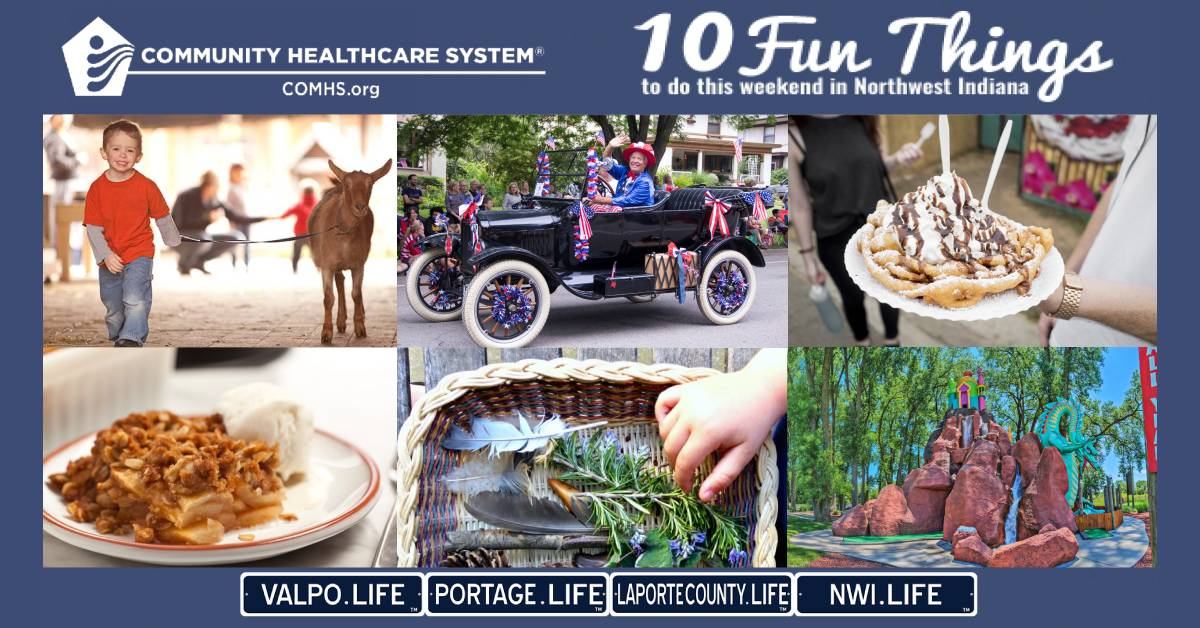 10 Fun Things to do in Northwest Indiana this weekend, July 3-5