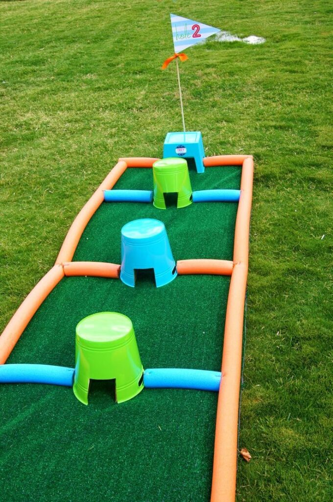Kids golf course