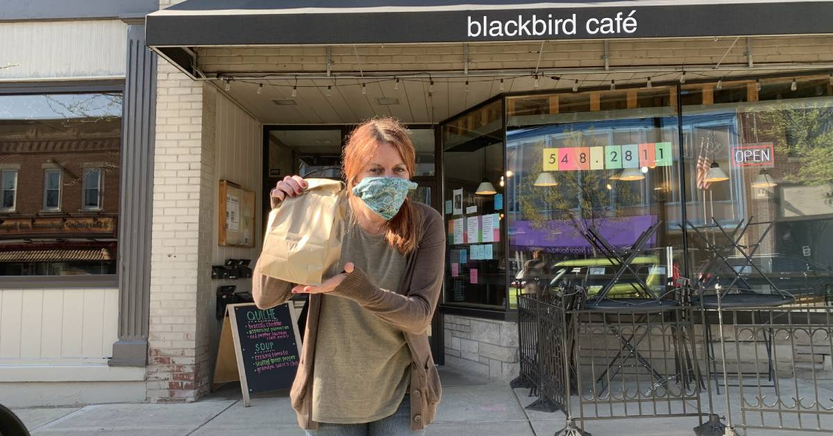 Blackbird Cafe opens doors for limited seating and unlimited kindness