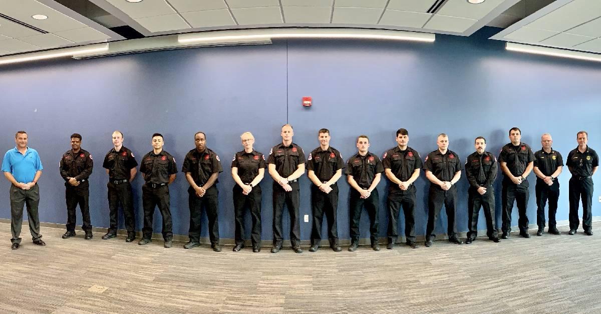 Hammond welcomes twelve new firefighters