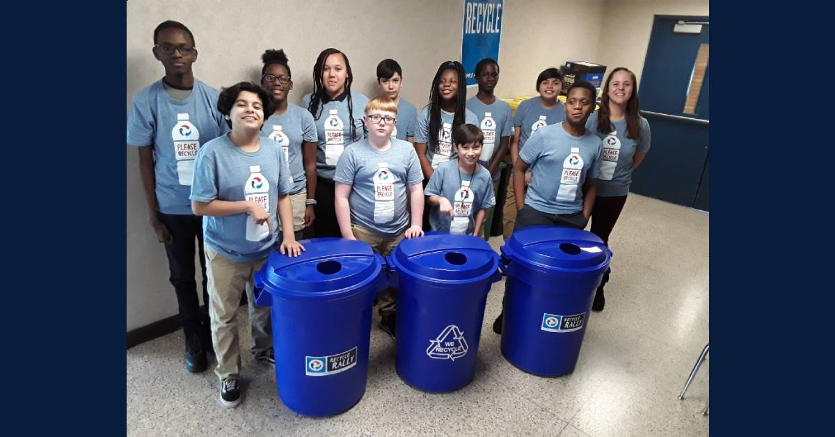 Krueger Middle School Awarded $25,000 in Pepsi Recycling Challenge
