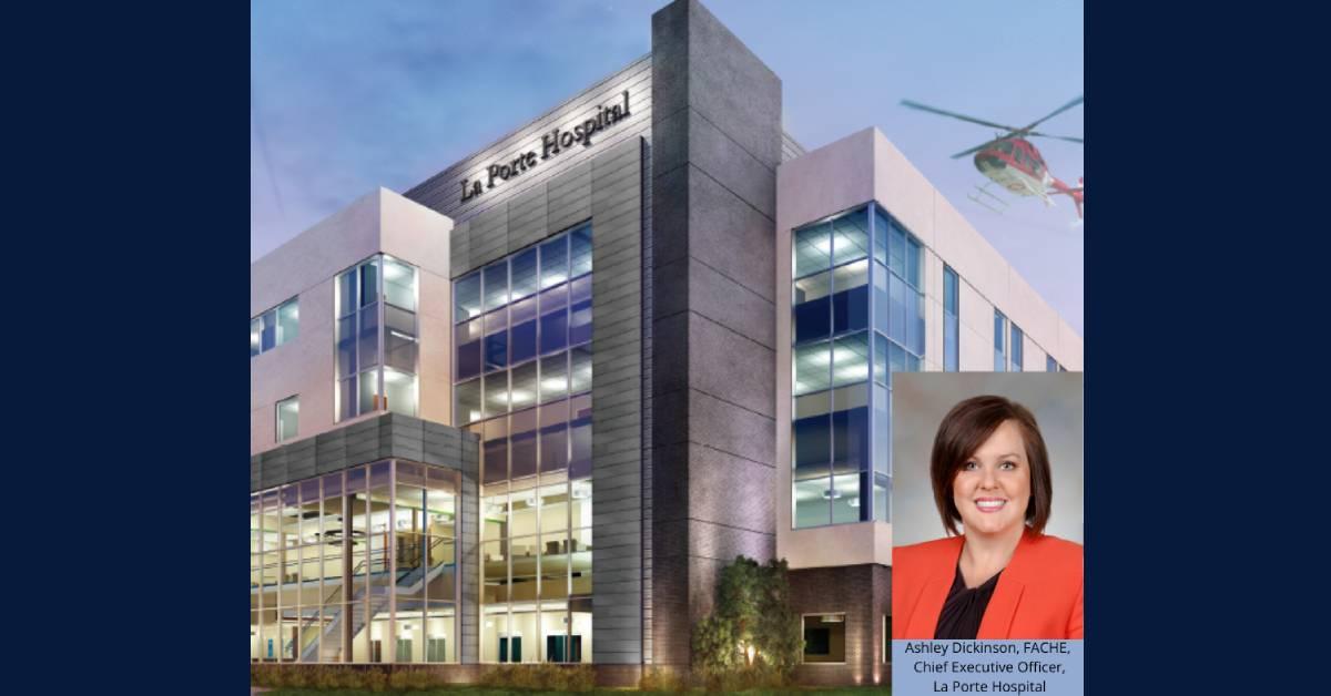 New La Porte Hospital to open in October