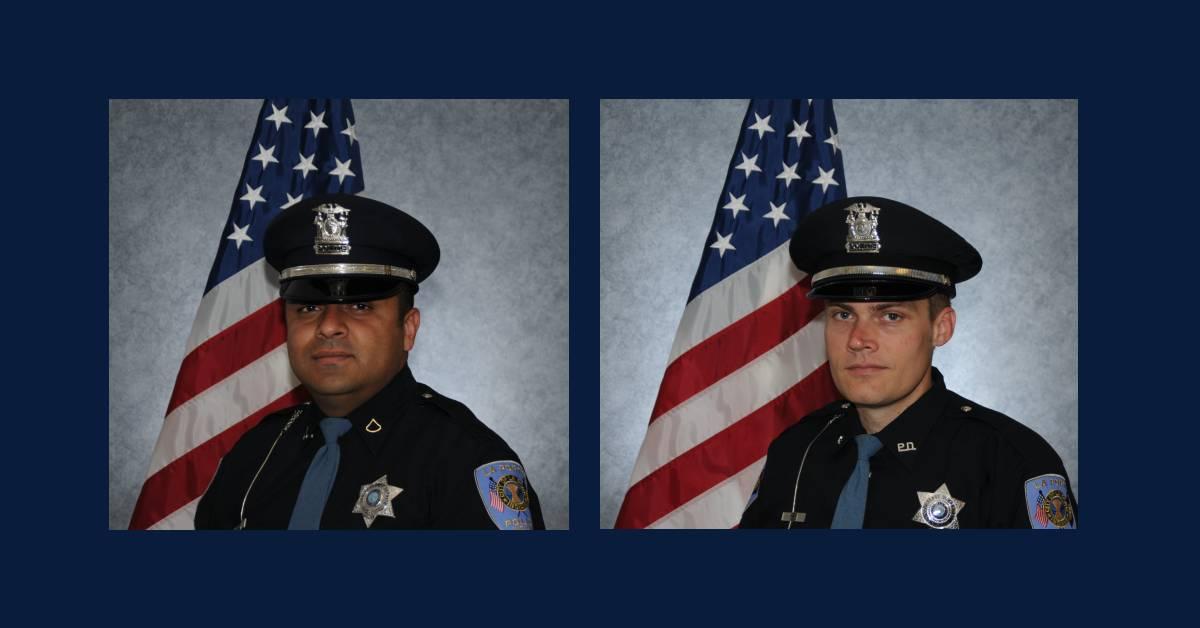 Brettin: two La Porte officers promoted