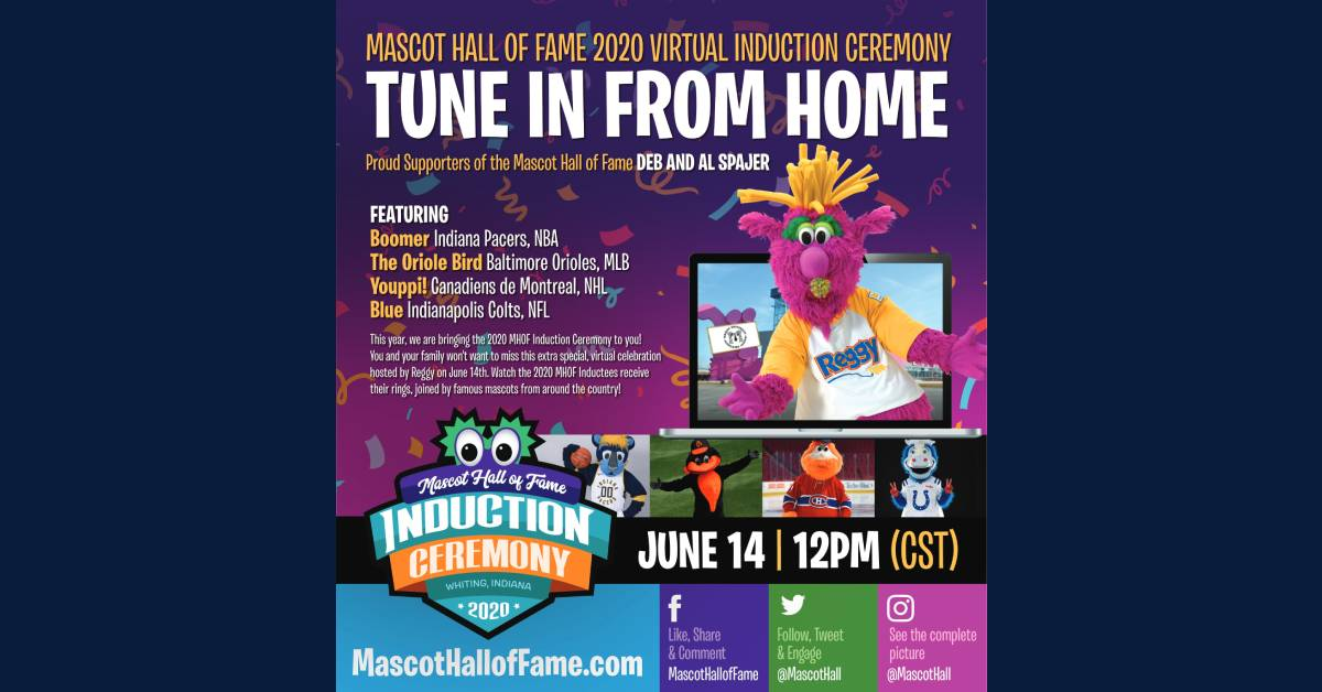 National Mascot Hall of Fame to host 2020 Virtual Induction