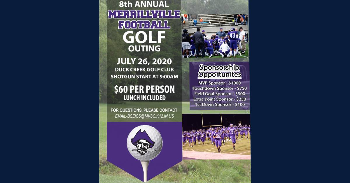 Golf fundraiser supports MHS football program