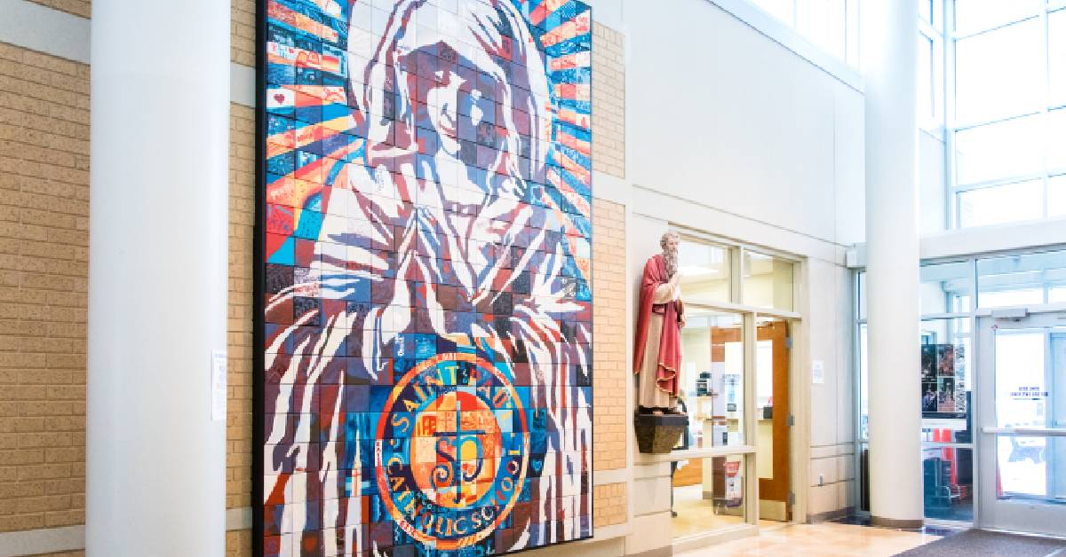 Saint Paul Catholic School welcomes New Panther families
