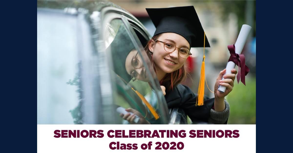 Seniors celebrating seniors