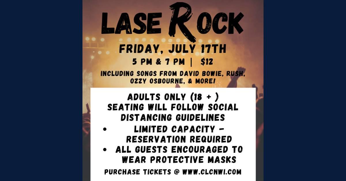 LaseRock & roll show