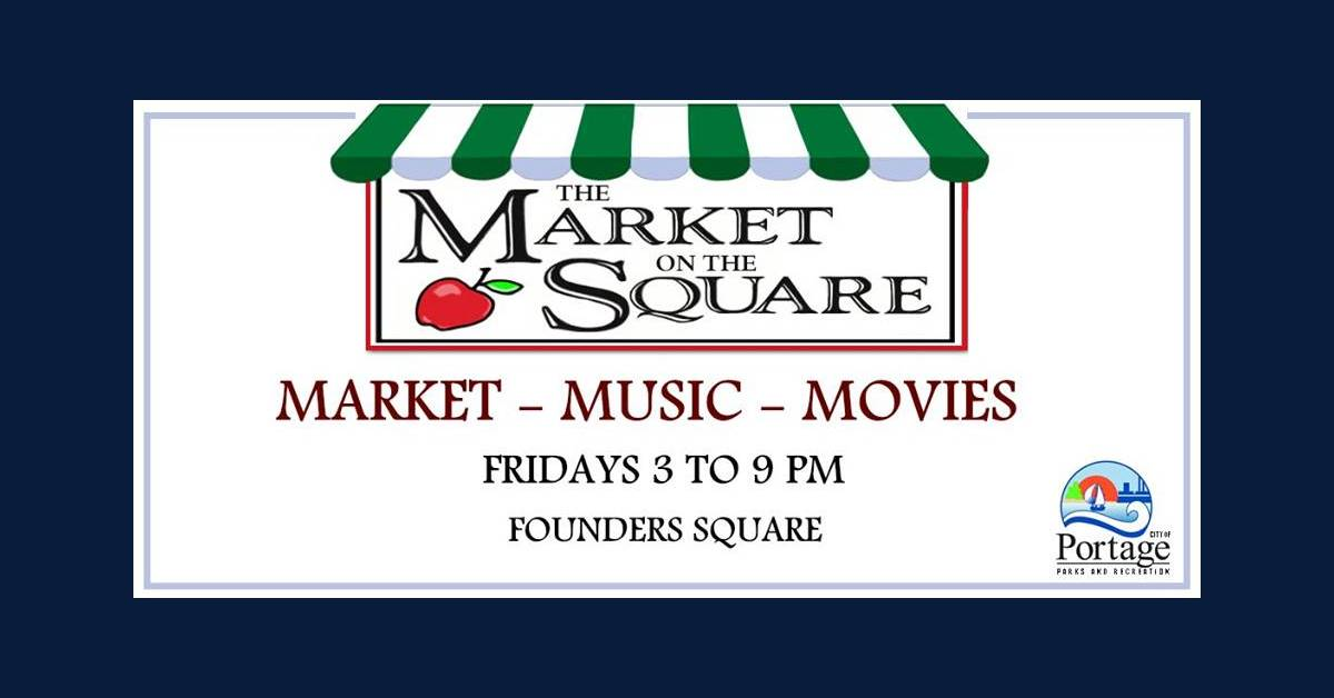 Portage Parks Department to host market on the square beginning July 10