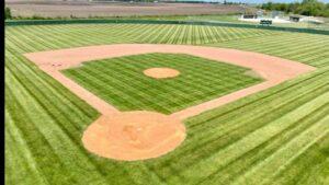 Lacrosse baseball field